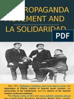 The Propaganda Movement and La Solidaridad