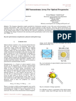 Comparative study of DR Nanoantenna Array For Optical Frequencies