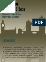 8. Generator Sinkron 3 Fase