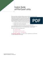 Pickoff Pull Cutoff Application Guide in MasterCam