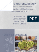 Succulents & Gardening
