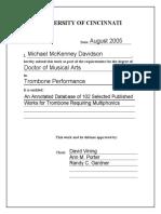 Davidson M. (2005) Works for trombone requiring multiphonics.pdf