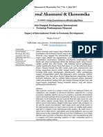 jurnal ekonomi dan akutansi
