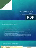 MD Assessment KFR