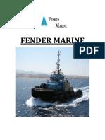 Fender selction manual