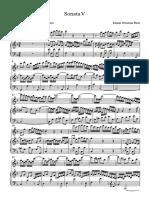BACH Sonata V - Partitura completa.pdf