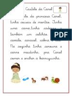 Atividade Com a Letra c Cursiva