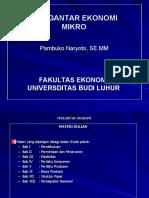 18146781 Micro Economic