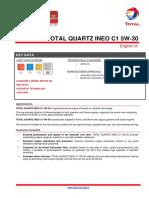 Total Quartz Ineo c1 5w-30