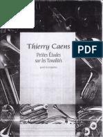 Thierry Caens - Petites Études Sur les Tonalités pour Trompette.pdf