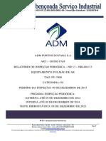 RELATÓRIO DE INSPEÇÃO - PU-7000