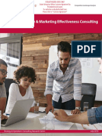 Branding Strategy Marketing Effectiveness Consulting Analyst Report ALM
