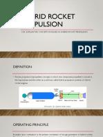 Hybrid Rocket Propulsion