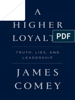 Higher Loyalty - Truth, Lies, and Leadersh - James Comey.pdf