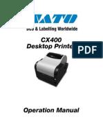 Manual Cx400