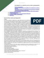 Ingenieria Financiera y Negocios y Su Relacion Costos y Presupuestos