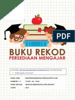Cover muka depan buku rekod persediaan mengajar (bukuprogramdancover.blogspot.sg ).docx