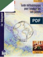 Guide Méthodologique Pour l Analyse Des Sols Pollués