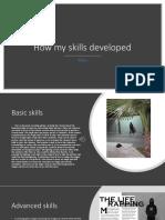 q3- how my skills developed