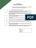 Soal Pre Dan Post Test Posbindu Ptm