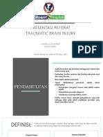 PPT Referat Pediatric Traumatic Brain Injury (Ello)