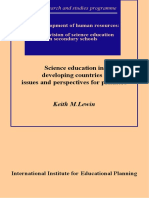 Science Education in Developing Countries