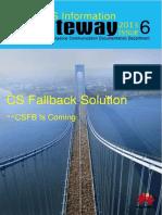 CSFB solution