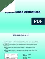 Operaciones Aritmeticas Plc