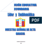 Carpeta Pedagógica Fely 4º 2019 en Proceso