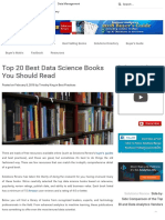 00 Top 20 Best Data Science Books You Should Read