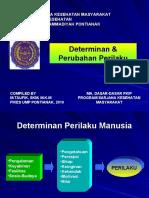 Determinan & Perubahan Perilaku