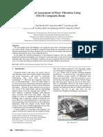 Experimental Assessment of Floor Vibration