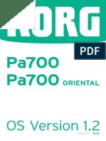 Pa700 Upgrade Manual v1.2 E