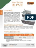 Oc 432 Caja de Pase 0.9 1.2 1.5mm