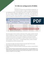 Bits de Configuración (FUSES)
