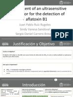 Development of an ultrasensitive aptasensor for the detection of aflatoxin B1 (1).pdf
