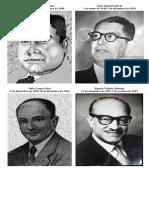 Presidepresidentes de hondurasntes de Honduras Desde 1935