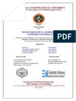 MicroMechanical Modelling of Composite Materials EM Project Report