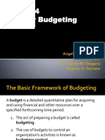 Group 4 Types of Budget