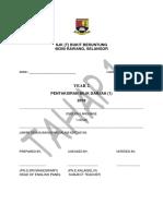 Muka Depan Tahap 1 Exam 2019