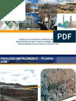Diseño de Un Sistema de Desorción Para La Recuperación de Oro y Plata de Carbón Activado Fino Generado en Una Planta de Proceso Adr. - PDF