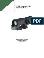 Specteros4x Manual