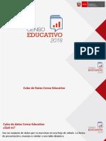 Censo Educativo 2018 Cubo Censo Educativo