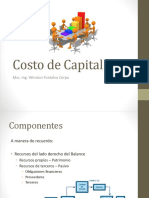 Costo de Capital 1
