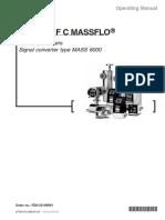 MASS 6000 - Manual