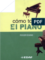 Roger Evans Como Tocar El Piano