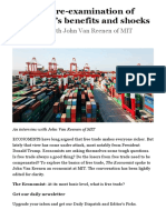A Healthy Re-examination of Free Trade's Benefits and Shocks - Open Markets