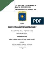 """TESIS """"COMPORTAMIENTO FÍSICO MECÁNICO DEL CONCRETO HIDRÁULICO ADICIONADO CON CAUCHO RECICLADO"""".pdf"""