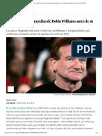 Así Fueron Los Últimos Días de Robin Williams Antes de Su Suicidio _ Gente y Famosos _ EL PAÍS Artículo Upload
