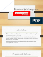Customer Relationship Management Used by Karbonn